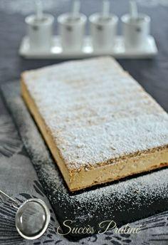 succès praliné Plus Single Serve Desserts, No Cook Desserts, Delicious Desserts, Gourmet Recipes, Snack Recipes, Dessert Recipes, Layered Deserts, Mousse Dessert, Sweets