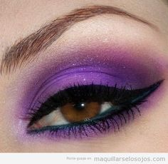 ojos sombras lilas - Buscar con Google