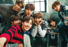 Omo, this my family. Bangtan forever