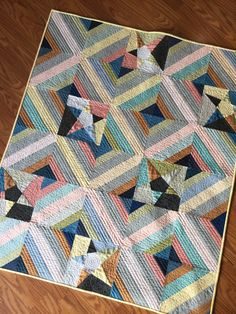 Stars and Strings baby quilt