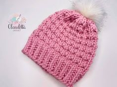 EASY knit hat / for beginners - Knitting for Beginners Knitting Videos, Easy Knitting, Knitting Projects, Bonnet Crochet, Knit Crochet, Crochet Hats, Easy Knit Hat, Knitted Hats, Purl Bee