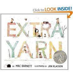 Amazon.com: Extra Yarn (9780061953385): Mac Barnett, Jon Klassen: Books