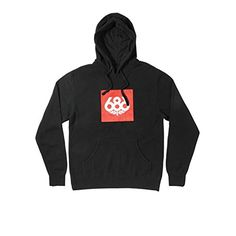 686 Mens Knockout Pullover Hoody Black Large -- Check out the image by visiting the link.
