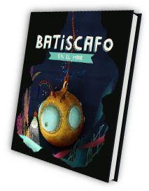 """""""Batiscafo en el mar"""" atiusca, una batiscafo algo aburrida, un día se ve librada por el calamar Humboldt para explorar los fondos marinos a su antojo. Sus exploraciones le llevan por cuevas, grutas y extraños paisajes submarinos donde topa con una serie de cuentos.  DE 6 A 8 AÑOS"""