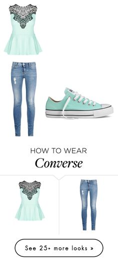 """""""Cute but I still have no life"""" by macyyyyyyyy on Polyvore featuring City Chic, STELLA McCARTNEY, Converse, women's clothing, women's fashion, women, female, woman, misses and juniors"""