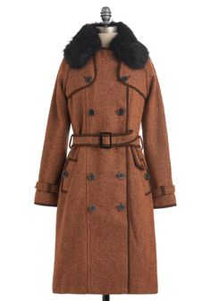 Tweed coat. ModCloth. $175.00