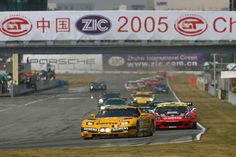 FIA GT Championship race at Zhuhai International Circuit in 2005