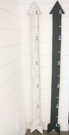 Arrow Growth Chart by NiftyMomma on Etsy