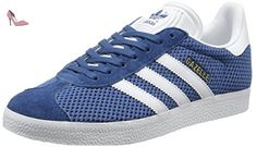 adidas Gazelle, Baskets Basses Mixte Adulte, Bleu (Core Blue/Footwear White/Core Blue), 37 1/3 EU - Chaussures adidas (*Partner-Link)