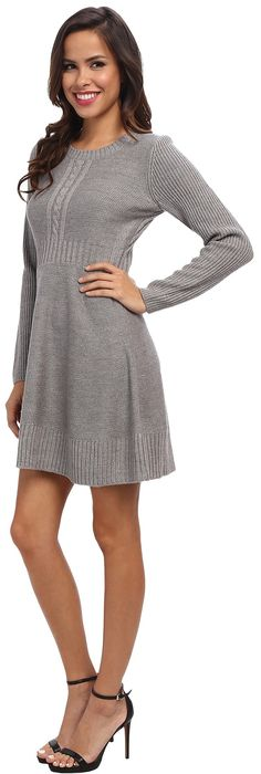 Jessica Simpson Cable-Knit Sweater Dress