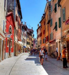 Rovinj, Croatia. Rovinj is the most beloved town in Istria, a top sight in Croatia, and one of its most romantic spots, which was lost on me since I was alone!  :(  Beautiful, none the less!