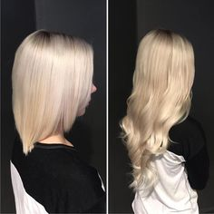 pakker tape hairextensions i farge Keratin, Hair Extensions, Tape, Long Hair Styles, Beauty, Weave Hair Extensions, Extensions Hair, Long Hairstyle, Long Haircuts