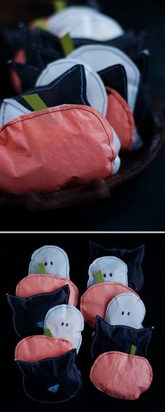 Halloween Treat Pouches | this heart of mine