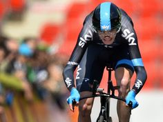 Tour de Romandie stage five gallery | Chris Froome had one second to make up on leader Simon Spilak in the race-ending time trial