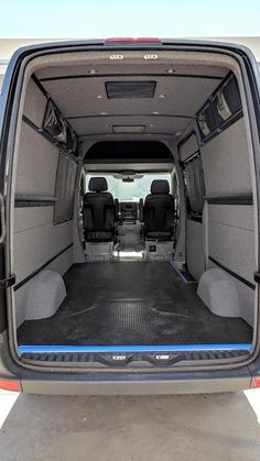 Sprinter Cargo Van Complete Interior Finishing Kit Non-Ext. Cargo Van Conversion, Sprinter Van Conversion, Camper Van Conversion Diy, Volkswagen Routan, School Bus House, Mercedes Sprinter Camper, Vw Crafter, Campervan Interior, Vans