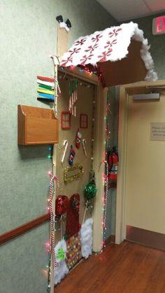 #doordecorating #contest #gingerbreadhouse