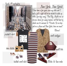 """""""Mon Style № 101 - September 19, 2016"""" by ann4-kar1na ❤ liked on Polyvore featuring Paul Frank, Yves Saint Laurent, Victoria Beckham, Betsey Johnson, GRETCHEN, Newyork, uglyshoes, birkenstocks and patternmixing"""