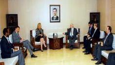 Zorgen om Syrische wapens-deadline. Sigrid Kaag leidt de VN-missie en spreekt met Syrische ministers over de voortgang.
