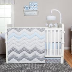 Found it at Wayfair - 3 Piece Crib Bedding Set