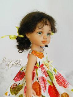 Яблоки на снегу. ООАК Паола Рейна / Мастер-классы, творческая мастерская: уроки, схемы, выкройки для кукол, своими руками / Бэйбики. Куклы фото. Одежда для кукол