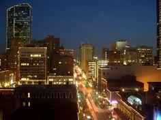 Fort Worth, TX: city at night
