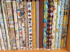 Some of our gorgeous childrens' fabric