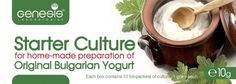Bulgarian Starter Culture for Traditional Yogurt - natural - up to 50 liters *** Click on the image for additional details.
