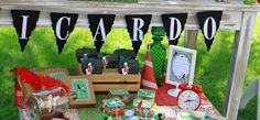 Peter Pan Neverland Themed Birthday Party