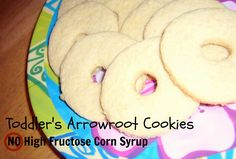 Homemade Arrowroot Cookies. Like Gerber's but without the High Fructose Corn Syrup.
