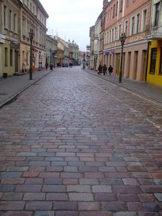 In a city - on cobbled streets - I walked, and my heart sang.