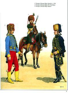 Austrian Hussars Seven Years War
