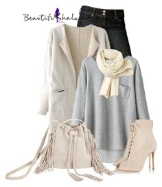 """""""Beautifulhalo.com"""" by cassandra-cafone-wright ❤ liked on Polyvore featuring Paige Denim, Lacoste, BCBGMAXAZRIA, Gianvito Rossi and bhalo"""