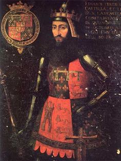 A portrait of John of Gaunt, thought to be by Luca Cornelli.