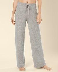 Arlotta Cashmere Drawstring Pant Heather Grey.  My Soma Wish List Sweeps #MySomaWishListSweeps