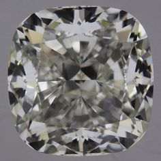 2.51 Carat J Color Cushion Diamond, VVS2, GIA Certified from Enchanted Diamonds