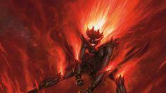 The Art of Dan Scott - Magic: The Gathering Art Dark Fantasy Art, Fantasy Artwork, Dark Art, Demon Art, Fantasy Creatures, Mythical Creatures, Fantasy Character Design, Character Art, Dungeons And Dragons