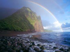 Waialu Valley - Molokai, Hawaii