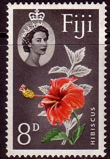 Fiji 1959 Hibiscus Flower Fine Mint SG 303 Scott 169 Other European and British Commonwealth Stamps HERE! Postage Stamp Design, Postage Stamps, You Are The World, Flower Stamp, Hibiscus Flowers, Stamp Collecting, Fiji, Pin Collection, Poster