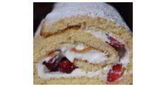 Erdbeer-Quark-Biskuitrolle super Schnell, ein Rezept der Kategorie Backen süß. Mehr Thermomix ® Rezepte auf www.rezeptwelt.de