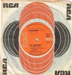 """David Bowie - The Jean Genie 7"""" 45"""