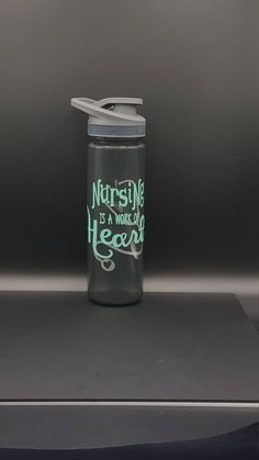 Gift For Nurses, Custom Water Bottle, Gift For Doctor, Nursing Student, Firefighter Gifts, RN Gifts, Nurse Gift, Hospital Staff Gift by GettingMyArtsyOn on Etsy