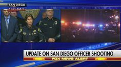 "San Diego's police chief provides details on the police officer who was murdered last night and the second officer who is in serious condition, but expected to survive.   ""We ask that you keep them in your thoughts and prayers."" http://fxn.ws/2avgT1K"
