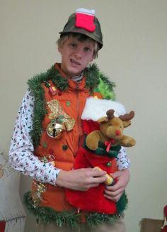 Hillbilly HUNTER  very Tacky Ugly Christmas by tackyuglychristmas