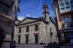 Iglesia de Santiago A Nova (Lugo - Spain)