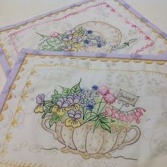 Crabapple Hill embroidery for quilting