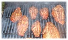 Cajun Smoked U. This recipe is specially designed to enha. - Cajun Smoked U. This recipe is specially designed to enhance the flavor of t - Ono Fish Recipe, Salmon Fish Recipe, Blackened Fish Recipe, Grilled Catfish Recipes, Fish Recipes Healthy Tilapia, Seafood Recipes, Grill Recipes, Smoked Catfish Recipe, Grilled Fish