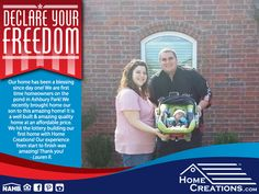 As our nation celebrates its independence, we are celebrating the freedom our homeowners found in homeownership! #DeclareYourFreedom #Homeownership