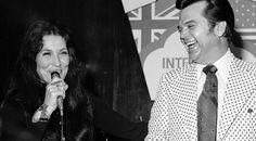 "Country Music Lyrics - Quotes - Songs Loretta lynn - Loretta Lynn's Beautiful Cover Of Conway Twitty's ""Hello Darlin'"" (VIDEO) - Youtube Music Videos http://countryrebel.com/blogs/videos/18430559-loretta-lynns-beautiful-cover-of-conway-twittys-hello-darlin-video"