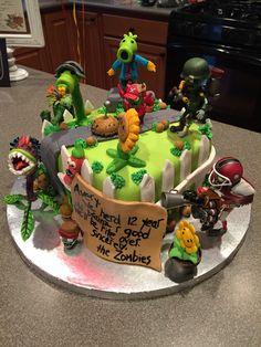 Plants vs. Zombies Garden Warfare Cake