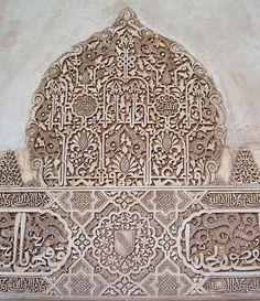 Morrish pattern T-Shirt Long Sleeve Tattoo Art Alhambra Patio Stucco